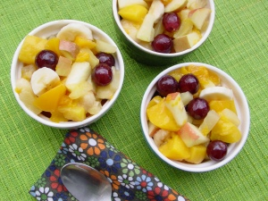 Kim's Canned Fruit Salad